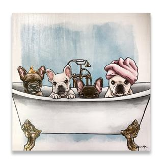 【O】Oliver Gal(オリバー・ガル) Frenchies In The Tub